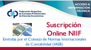 Suscripción NIIF Online